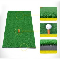 Golf Matras Rumput Sintetis 60 X 30 CM Mat Swing Training Backyard