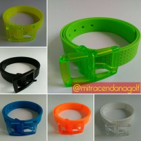 Silicone Belt Many Colors Fruit Golf Jelly Rubber Plastic.