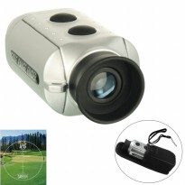 Digital 7x18 Golf Range Finder / Teropong Gold - Silver