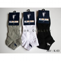 KAOS KAKI PENDEK POLO (Mirror 1 : 1 Original) Golf Jogging Running Gym