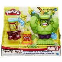 (LIMITED) Play Doh Smashdown Hulk Featuring Marvel Can Heads