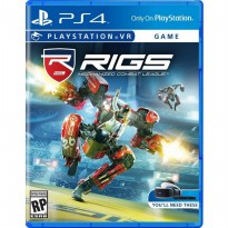 (LIMITED) Kaset BD Game PS4 RIGS: Mechanized Combat League Reg 3