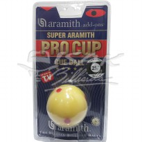 Aramith Pro Cup Cue Ball - 2.3/8' - 6 Red Dots - Bola Biliar Billiard