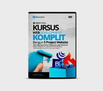 DVD Kursus Web Development Komplit Bangun 5 Project Apl
