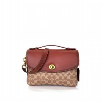 Tas Wanita Import Coach Cassie Crossbody In SIgnature