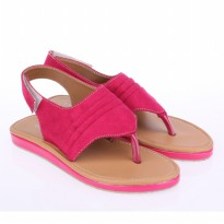 Catenzo Junior Sandal anak Cewek Kasual CDSx034 Pink Brown