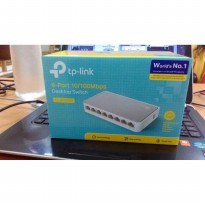 Switch 8 Port TPLINK TP-Link TL-SF1008D 8-Port 10/100Mbps Switch Hub