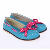 Catenzo Junior Flat Shoes Anak CABx003 Tosca Pena