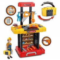 (DISKON) WORKSHOP PLAY SET | TOOL SET KOPER
