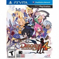 (READY) Kaset Game PS Vita Disgaea 4: A Promise Revisited