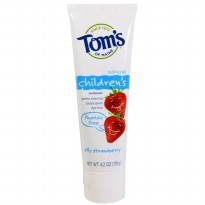 Tom's of Maine Children Toothpaste Strawberry Fluoride Free