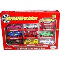 (PROMO) STREET MACHINE DIE CAST 10 PCS CAMPURAN