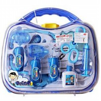 (LIMITED) DOCTOR KOPER TRANSPARAN BLUE 1014 - MAINAN ANAK DOKTERAN