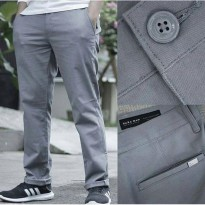 Chinos Pants ZARA MEN BASIC ORIGINAL / Celana Chino Pria ORI Branded