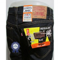 Celana Jeans Branded Levis/levis Standar/Regular BlueBlack 27-32 CO