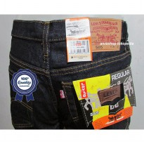 Celana Jeans Branded Levis/levis Standar/Regular BlueBlack 33-37 CO