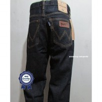 Celana Jeans Branded Wrangler Standar/Regular BlueBlack 27-32 CO