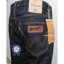 Celana Jeans Branded Wrangler Standar/Regular BlueBlack 33-38 CO