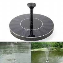 Air Mancur Tenaga Surya : 7V Floating Water Pump Solar Panel