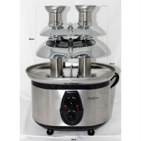 [Recommended] Dodawa chocolate fountain Double (DD-1208) (SKU:00251.00007)
