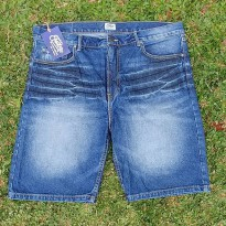 Celana Pendek JEANS EASTLORE BIGSIZE / Denim Short Pants ORI Branded