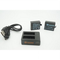 Battery Charger for Action Camera Hunter, Sj4000, Brica