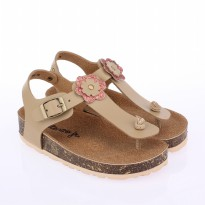 Catenzo Junior Sandal T-strap Anak CHSx004 Cream