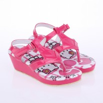 Catenzo Junior Sandal Wedges Anak CABx009 Pink Comb