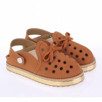 Catenzo Junior Sandal Bold Anak CRAx005 tan