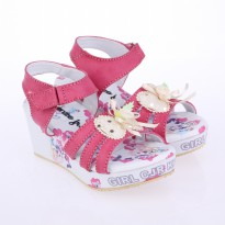 Catenzo Junior Sandal Wedges Anak CABx056 Pink