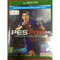 GAME XBOX ONE ORIGINAL PRO EVOLUTION SOCCER 2018 PREMIUM EDITION