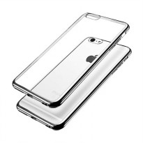 Soft Case Ultrathin TPU Shining Chrome For Iphone 5 / 5s