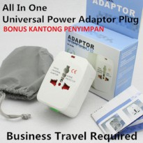 Adaptor Universal / Universal Travel Adaptor / Adaptor Internasional / Colokan International