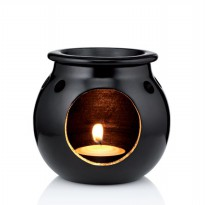 THE BODY SHOP OIL BURNER BLACK