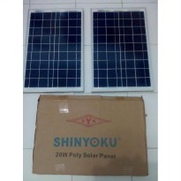 Solar Panel 20WP SHINYOKU