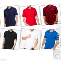 C59 Original K1-0 Kaos Polo Shirt Pria Lakos Basic