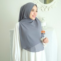 Hijab Nasya Zipper Ceruty Premium by Orlin Hijab Official