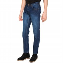 2Nd Red Celana Panjang Jeans Fashion Trendy/Jeans Fashion Murah/Jeans Model Abadi Biru Tua 121280