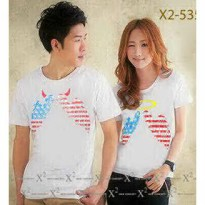Kaos Couple / Baju Pasangan / Soulmate wings