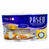 Tissue Paseo Elegant Towel Kitchen 3 in 1 - Tissue Dapur - serap Minyak