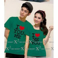 Kaos Couple / Baju Pasangan / Soulmate i love you and me