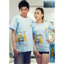 Kaos Couple / Baju Pasangan / Soulmate bola man city