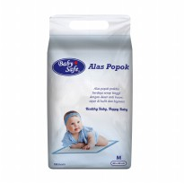 BABY SAFE DISPOSABLE UNDERPAD/ ALAS POPOK BAYI ISI 10 PCS [UP10M]