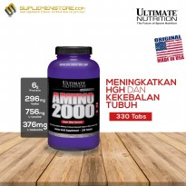 AMINO Ultimate Nutrition Amino 2000 330 tabs