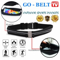 GO BELT Tas Pinggang Jogging Lari Travel Pocket Multifungsi