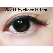 Scott Mata / Sticker Eyeliner / Scott Eyeliner Hitam