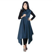 Raindoz Dress Wanita RMZx001 Beauty Betabatiblue