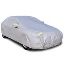 Reflektor Premium Double Layer Selimut Car Cover Body Mobil Medium MPV