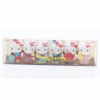 Hello Kitty Miniatur Profesi Hello Kitty Isi 6 Japan Sanrio Original