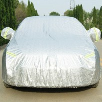 KIA PICANTO,CITY CAR] Double Layer Sarung Body Cover Mobil Reflektor